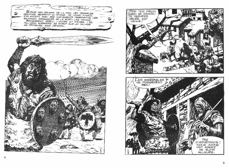 Première page du premier épisode remontée dans le poche n° 1 paru à la SFPI en juin 1963.