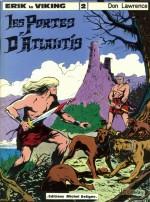 Couverture de «Les Portes d'Atlantis» (album Michel Deligne n° 2, 1979) par Jean-François Charles.