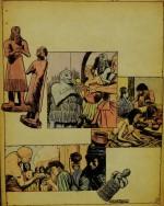 Planche originale de Gal pour « Les Grandes Civilisations » dans Pistolin (1957).