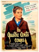 Affiche pour « Les Quatre Cents Coups » en 1959.