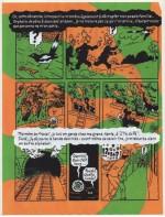 Extrait de la BD d'Olivier Josso sur Hergé.