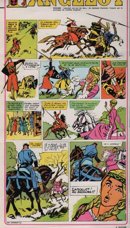 « Lancelot » J2 jeunes n° 34 (21/08/1969).