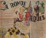 « La Ronde de Pâques » Âmes vaillantes n° 15 (13/04/1952).