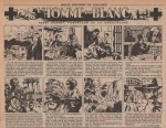 « L'Homme en blanc » Coeurs vaillants n° 9 (01/03/1953).