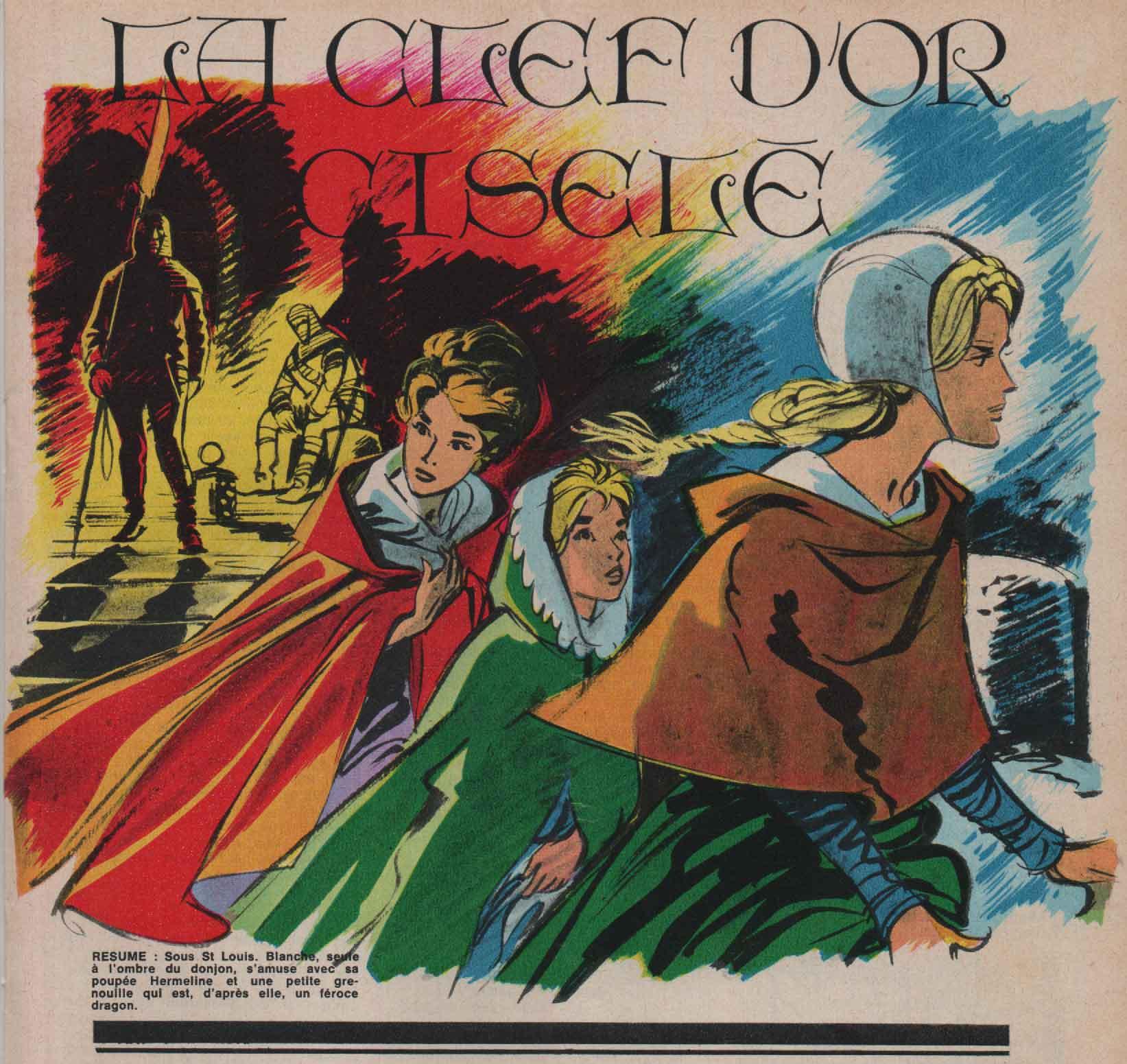 « La Clé d'or ciselée » illustration J2 magazine n° 46 (17/11/1966);