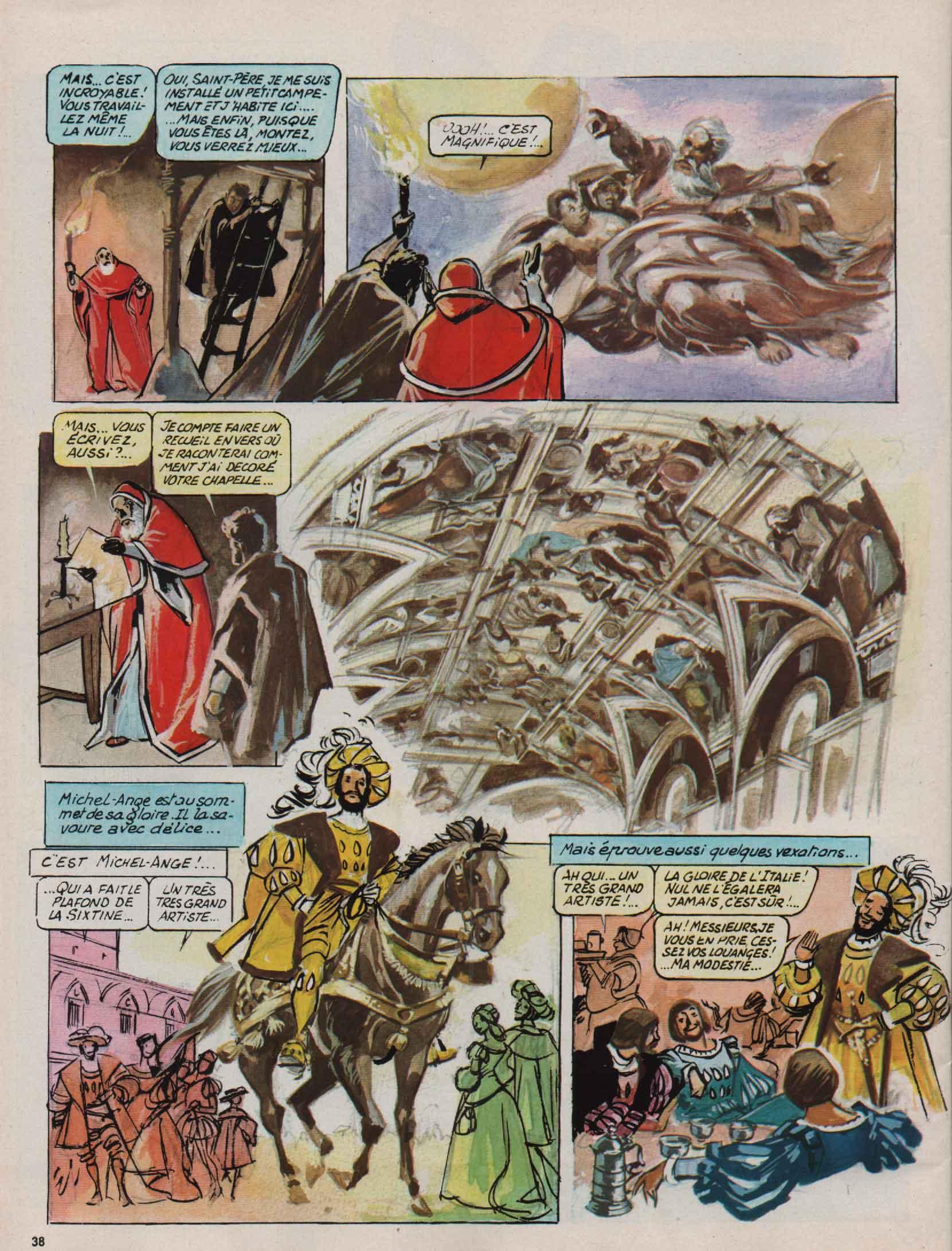 « Michel Ange » Djin n° 24 (11/06/1975).