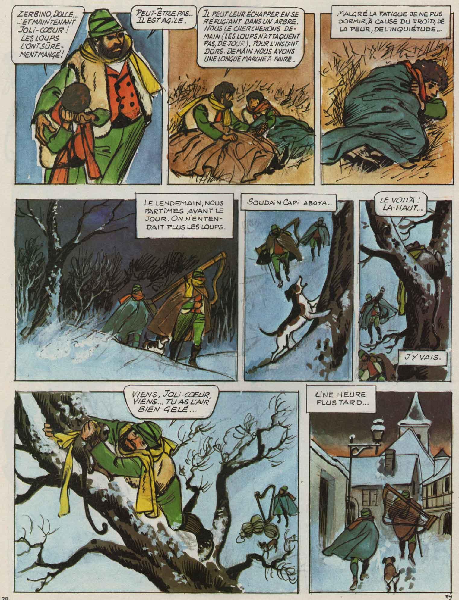 « Sans famille » Djin n° 20 (23/05/1978).