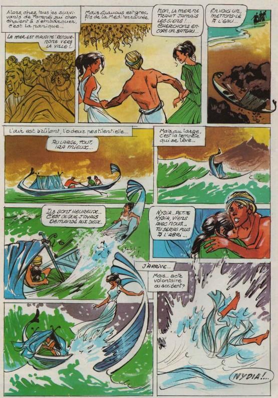« Les Derniers Jours de Pompéi » Djin n° 2 (09/01/1980).