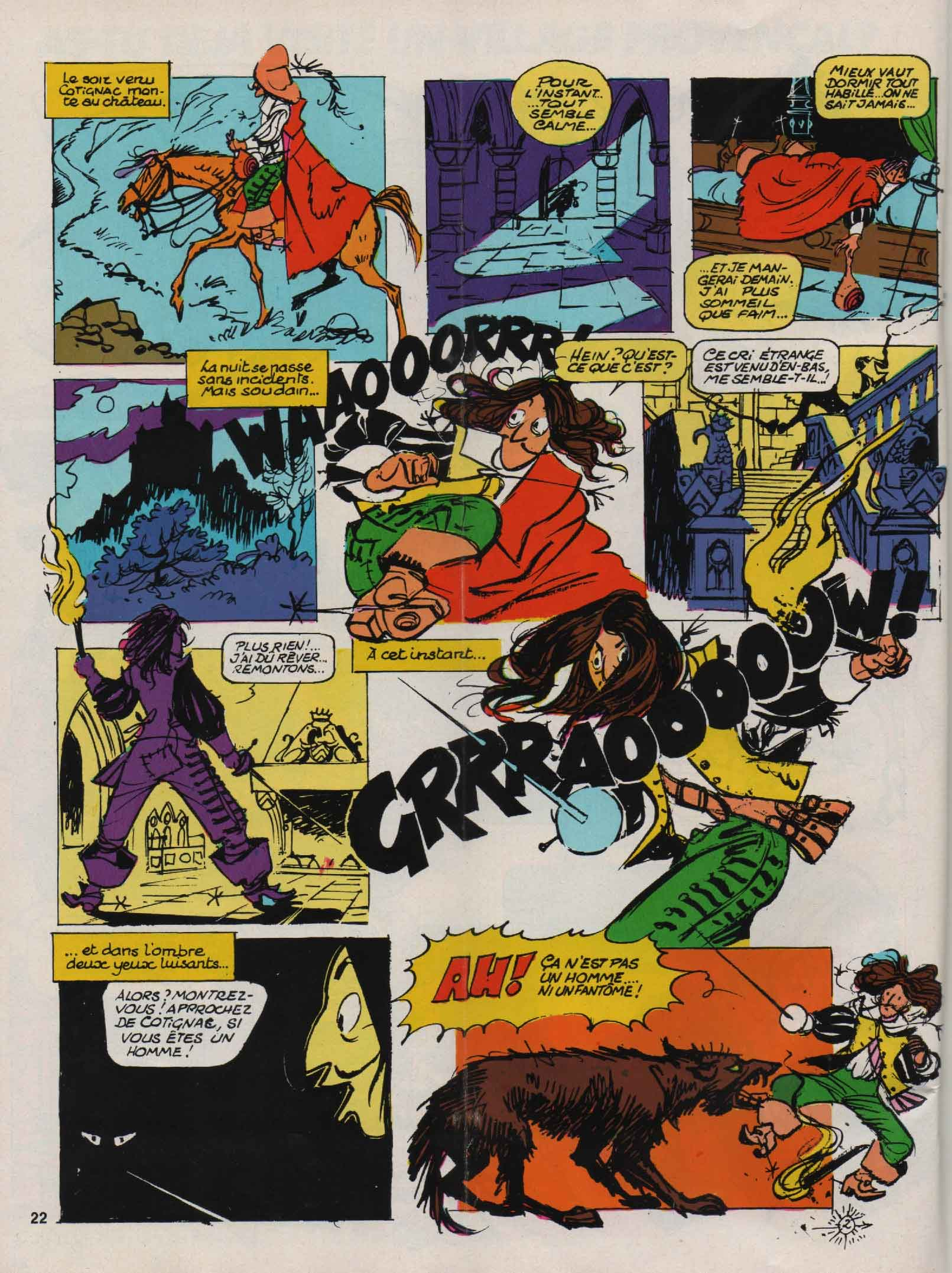 « Cotignac » Fripounet n° 3 (21/01/1976).
