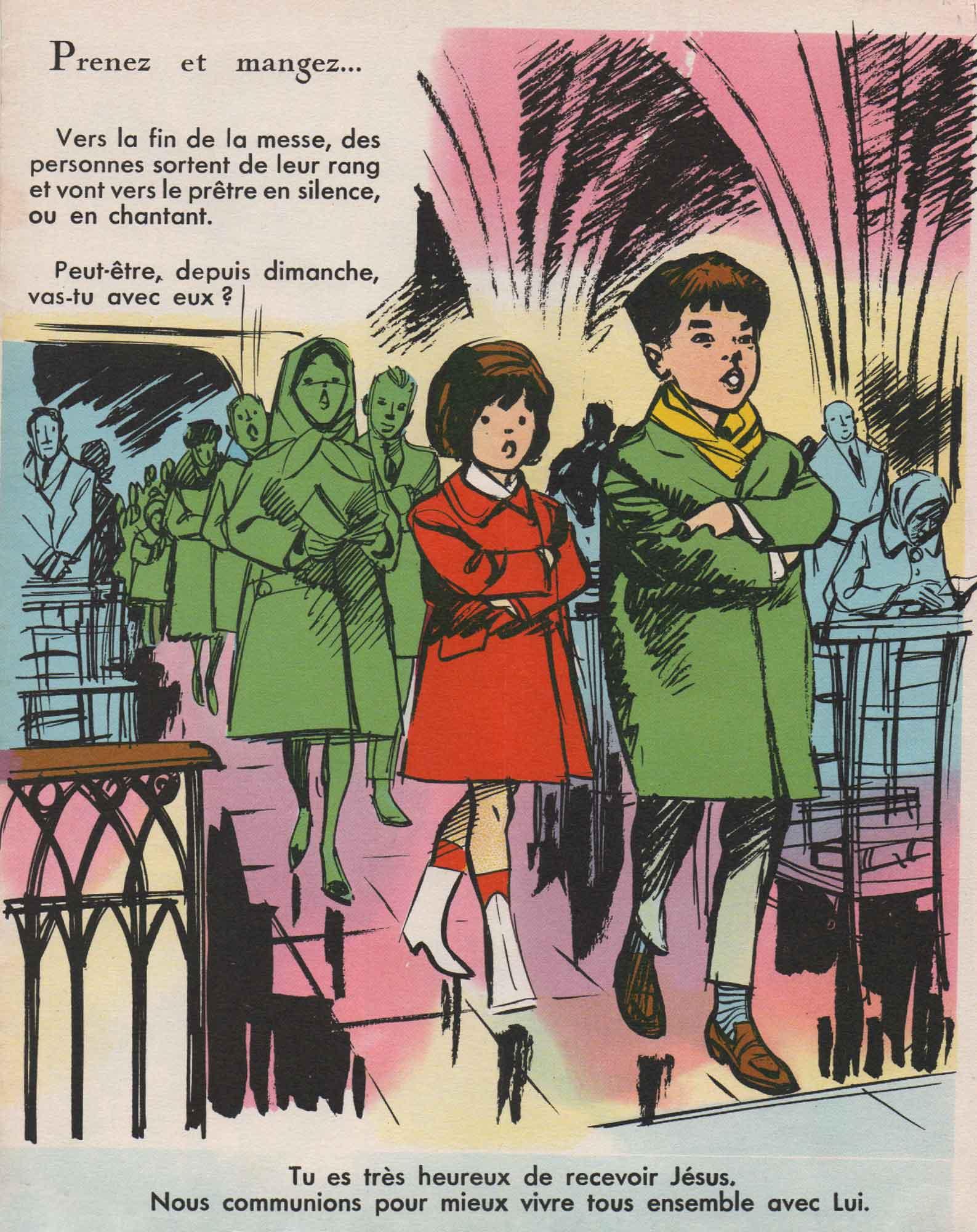 Illustration Perlin et Pinpin n° 13 (30/03/1967).