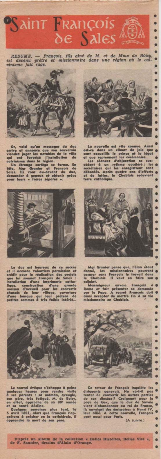 Belles histoires, belles vies n° 15 : «  Charles de Foucault » (1953).