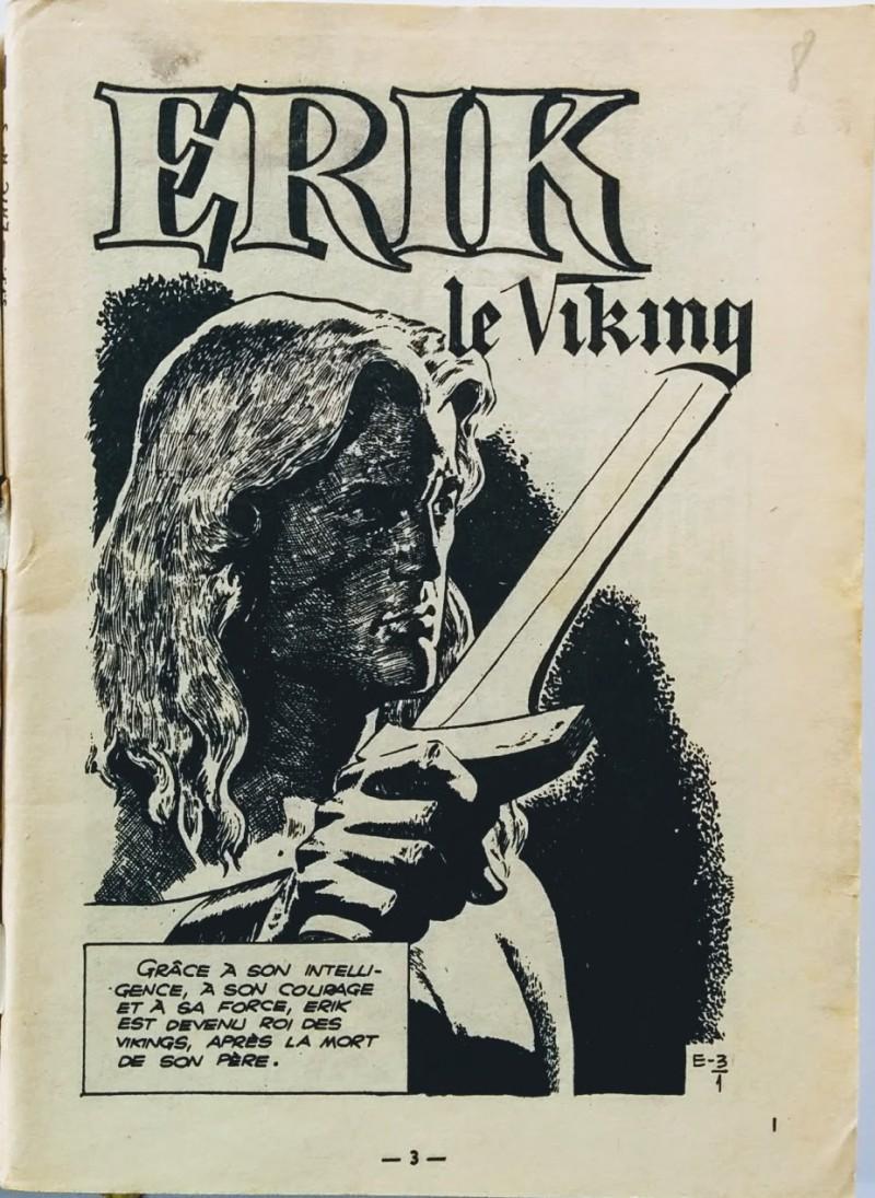 Première page du poche n° 3 paru à la SFPI en août 1963.