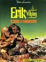 Couverture de «El Sarid le sanguinaire» (album Michel Deligne n° 5, 1980).