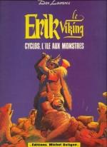 Couverture de «Cyclos, l'île aux monstres» (album Michel Deligne n° 6, 1980).