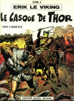 Couverture du «Casque de Thor » (album Michel Deligne n° 4, 1979) par Jacques Géron.
