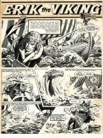 Une page originale de «Cyclos, l'île aux monstres».