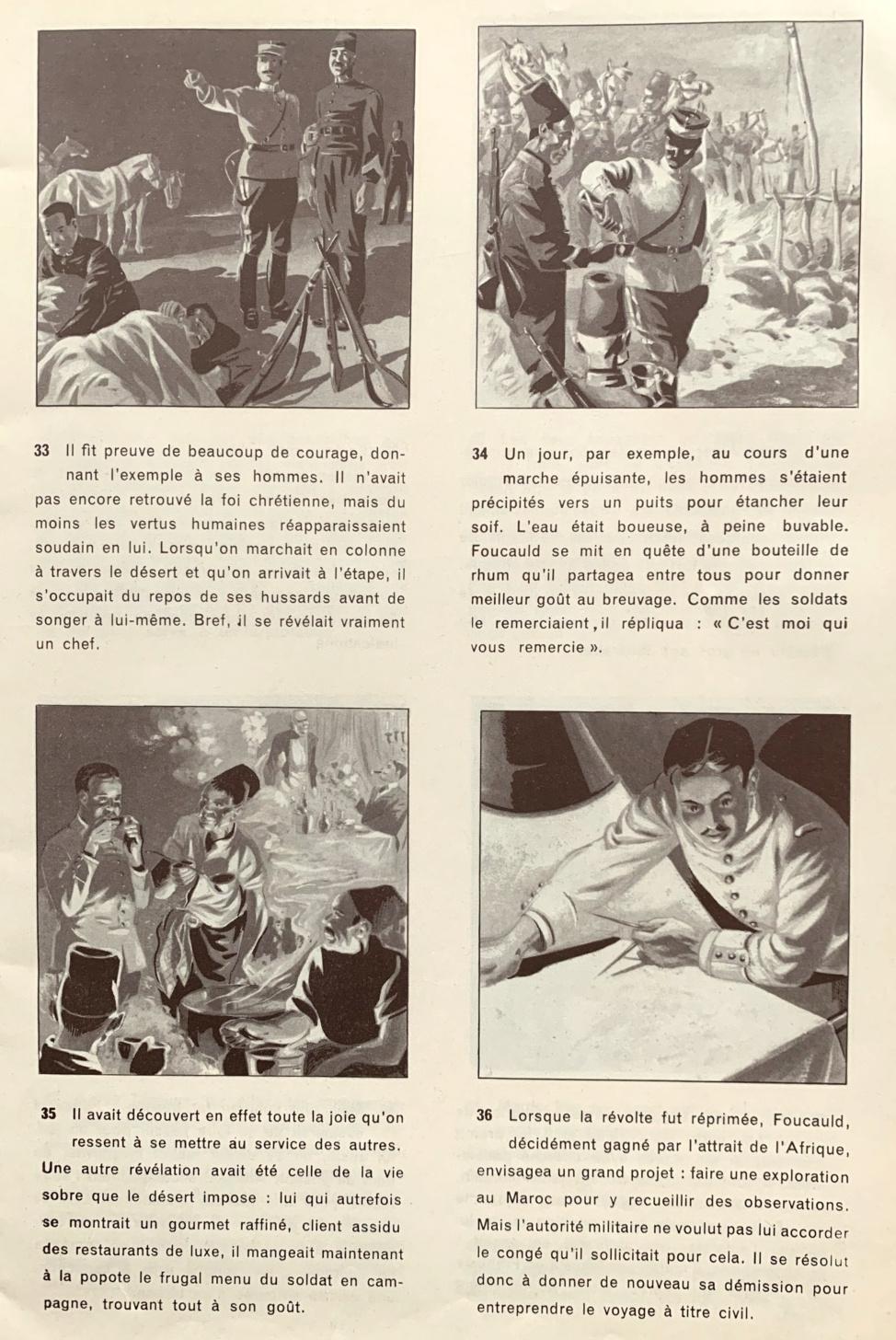 Belles Histoires et belles vies n° 15 : «  Charles de Foucault » (1953).