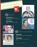 Titres parus et à paraître dans la collection 9 1/2.