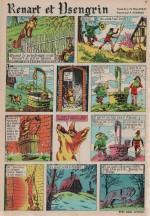 « Renart et Isengrin » Fripounet n° 8 (25/02/1965).