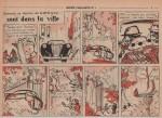 « Les Martiens sont dans la ville » Cœurs vaillants n° 1 (06/01/1957).
