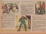 « Des champignons dangereux » Cœurs vaillants n° 38 (22/09/1957).