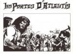 Dessin de page de garde pour «Les Portes d'Atlantis» (album Michel Deligne n° 2, 1979).