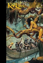 Couverture du premier seuil de l'intégrale en quatre volume publiée en 2008 par Don Lawrence Collection, le quel contient les trois premiers épisodes.