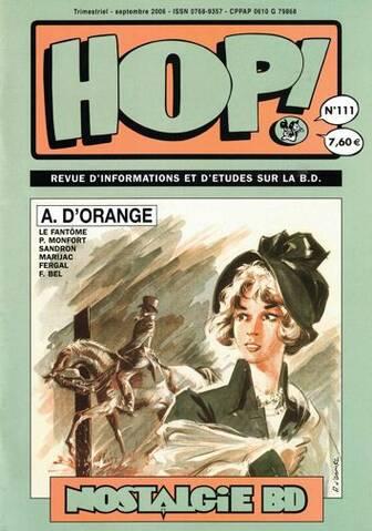 Tout sur Alain d'Orange dans le n° 111 de Hop !.