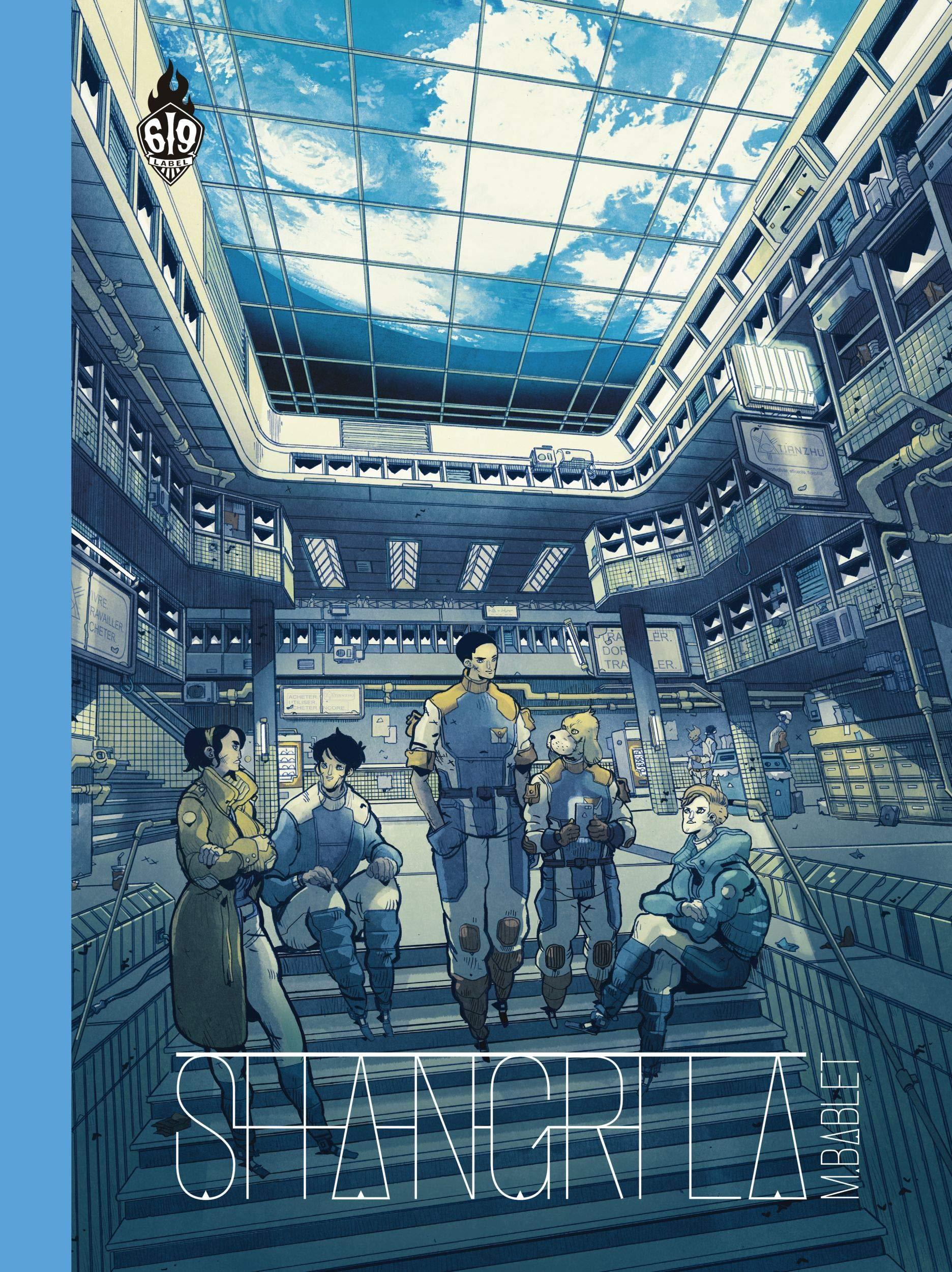 Couverture pour la réédition de « Shangri La » (édition spéciale 15 ans d'Ankama - 2020).