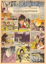 « Mystère et patinage » : une aventure d'Anita et Stan dans Lisette (1961).