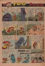 « Tug : Pirate malgré lui » Francs-Jeux n° 382 (15/04/1962);