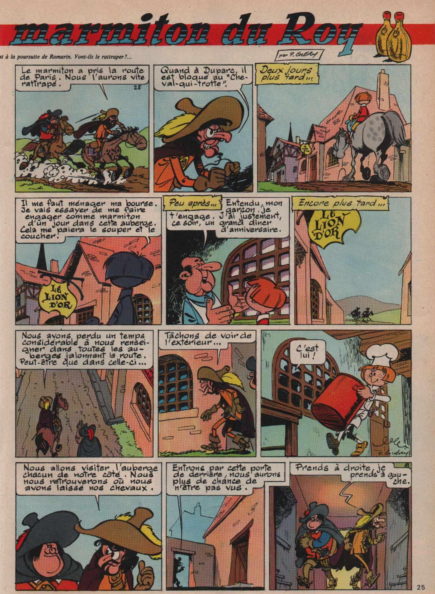 « Romarin : marmiton du Roy » Francs-jeux 462 (15/12/1965).