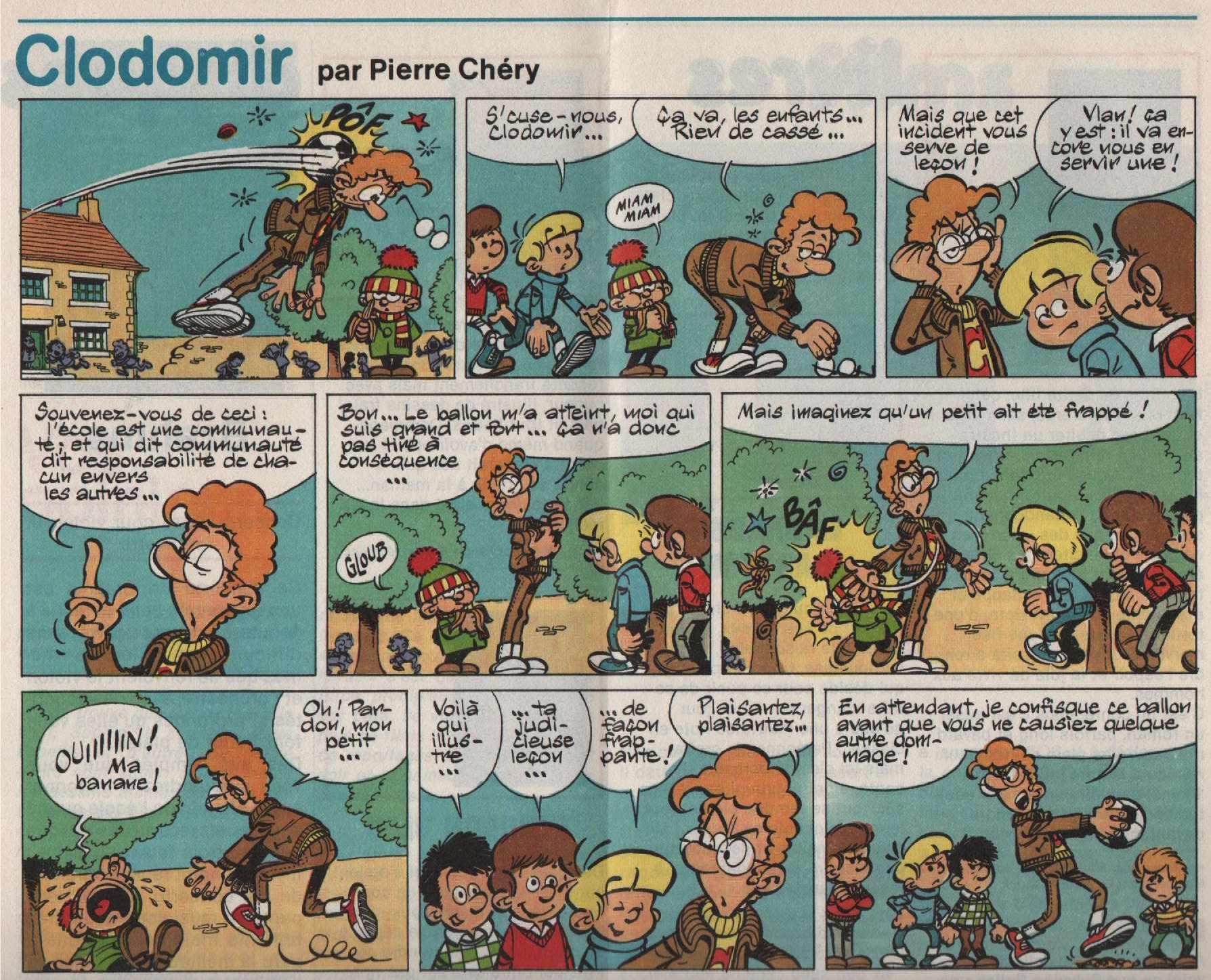 « Clodomir » Virgule n° 14 (12/1980).