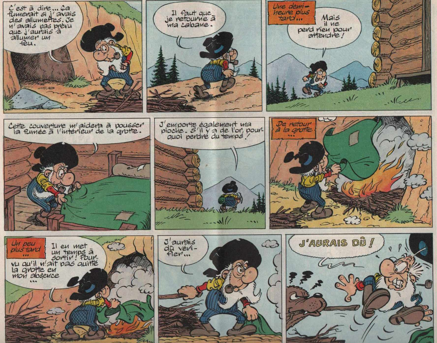 « Sylvère la pépite : L'Ours y es-tu ? » Virgule n° 14 (12/1980).