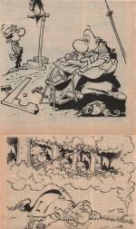 Almanach Achille Talon 1981 Dargaud (12/1980).