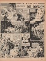 « Le Prisonnier du donjon » Semaine de Suzette n° 26 (24/05/1956).