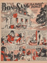 « Bon sang ne peut mentir » Semaine de Suzette n° 88 (30/07/1959).