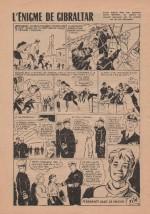 « L'Énigme de Gibraltar » Bernadette n° 499 (24/06/1956).