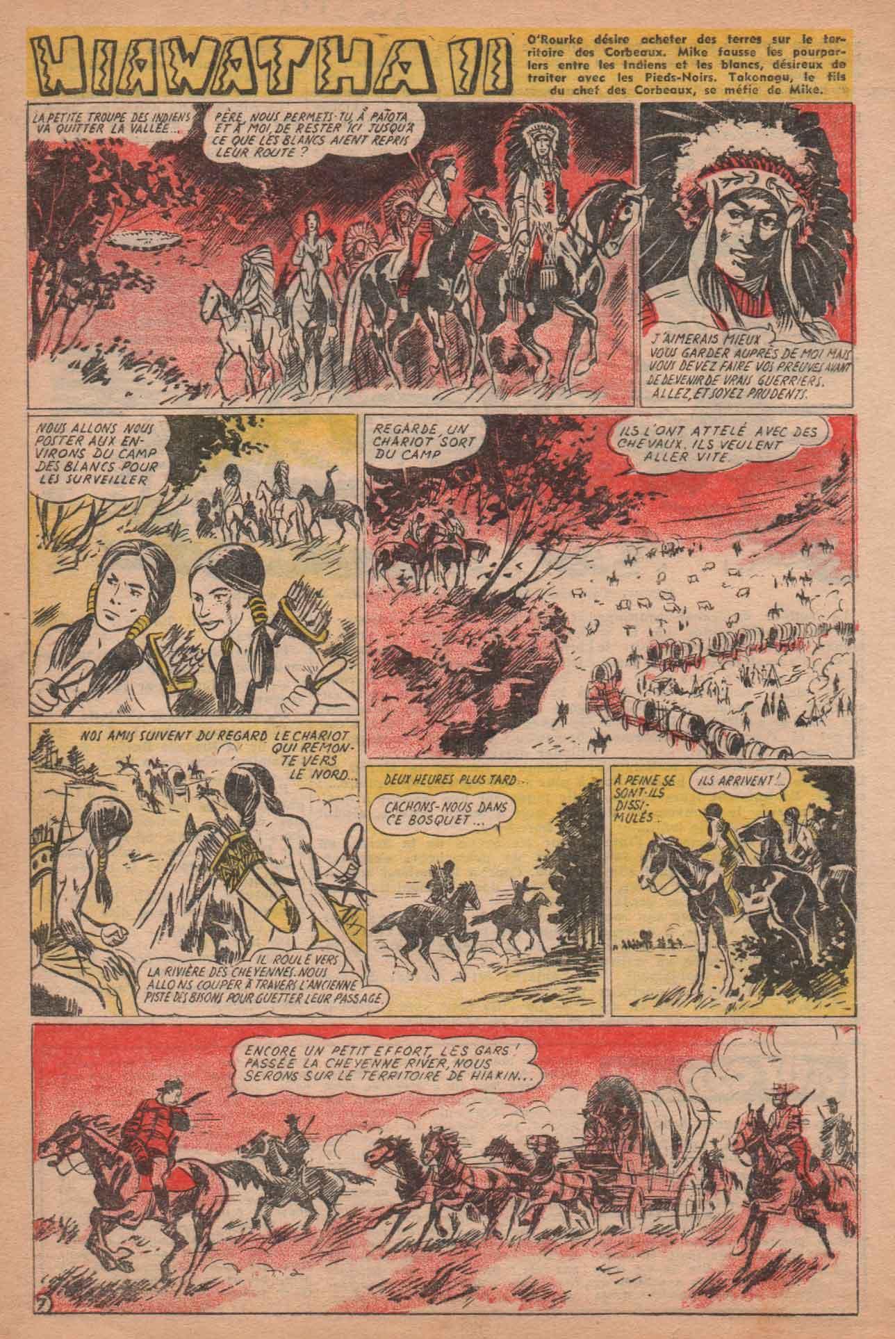 « Hayawatta  II » Bayard n° 490 (12/02/1956).