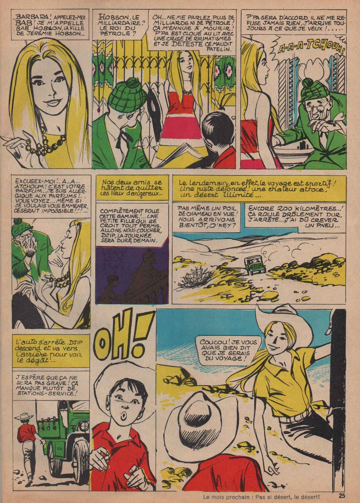 « Djip » Terres lointaines n° 204 (11/1968).