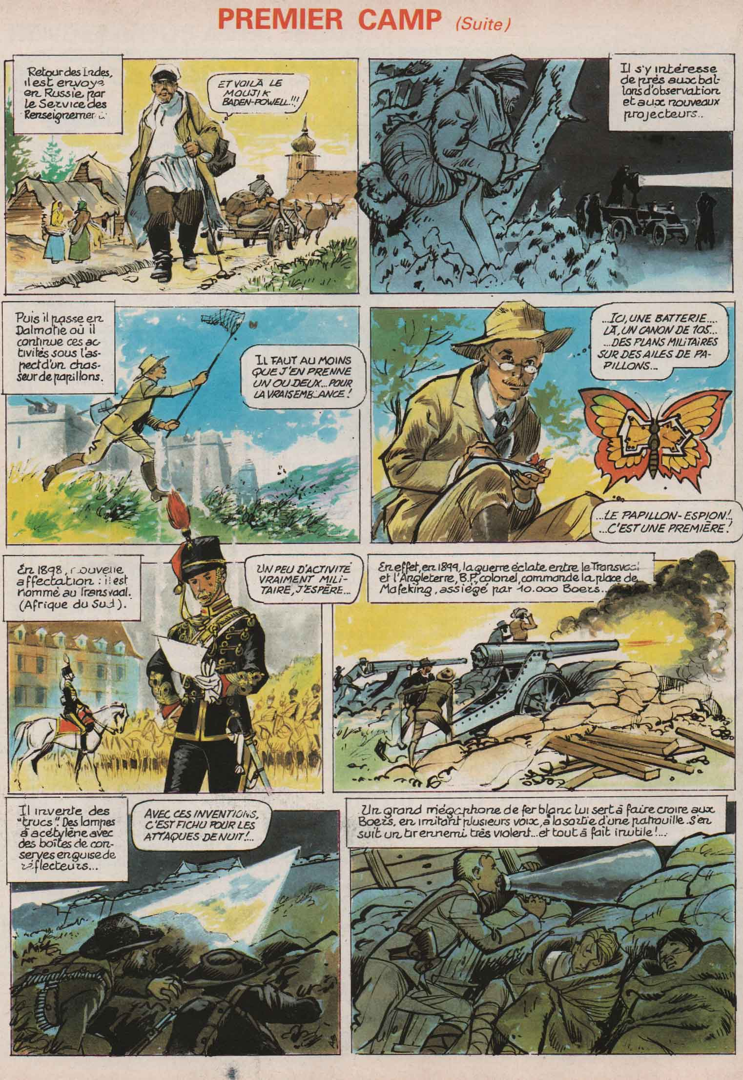 « Baden Powell » Scout n° 7 (01/1983).