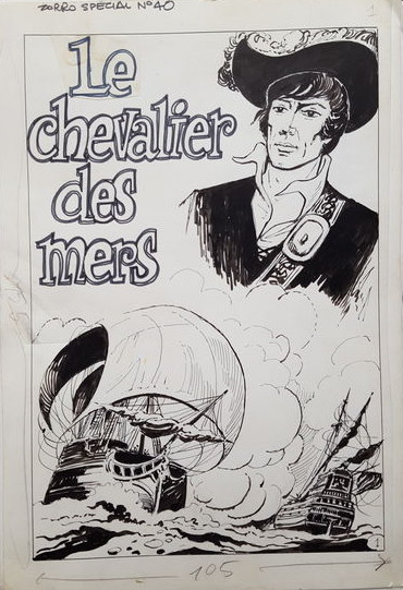 Original du « Chevalier des mers » (1968).