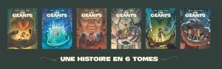 Les Géants une histoire en 6 tomes