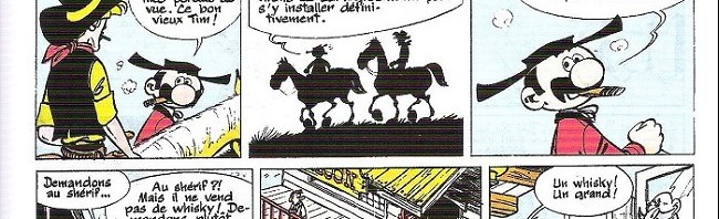 « La Chevauchée des vaches qui rient » J2 jeunes n° 8 (24/02/1966).