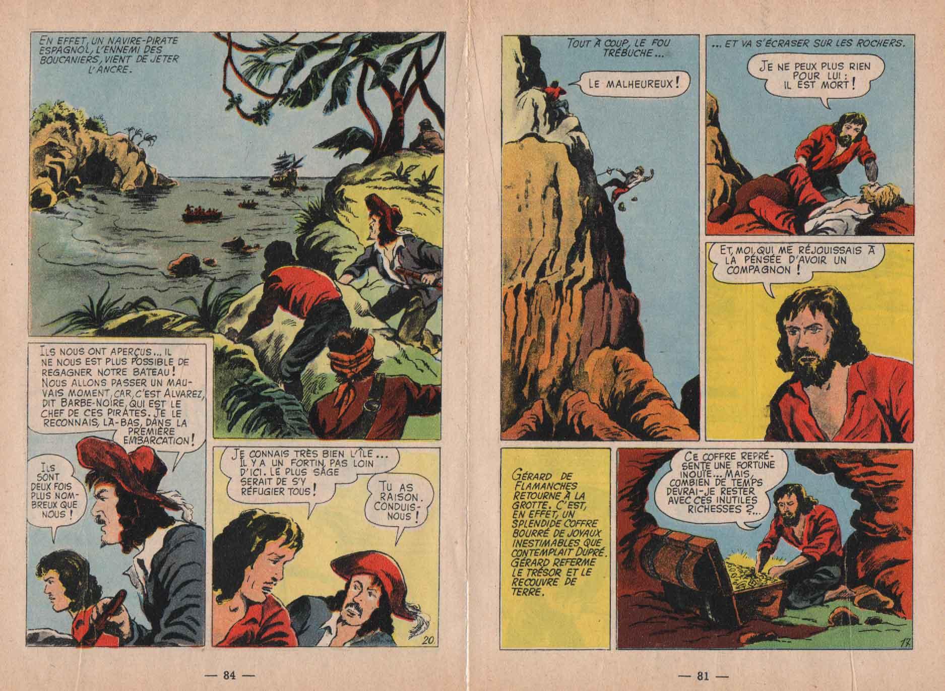 « L'Appel de l'aventure » Arc en ciel n° 3 (01/1957).