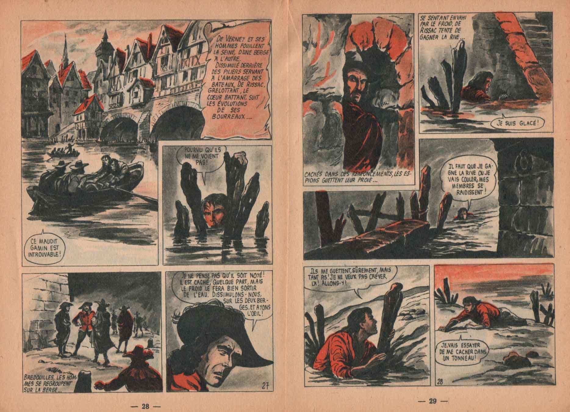 « Au service du Roy » Arc en ciel n° 17 (08/1958).