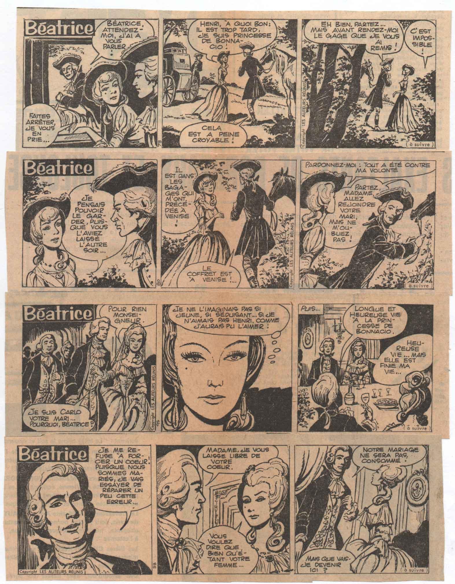 « Béatrice » Les Auteurs réunis (1965).
