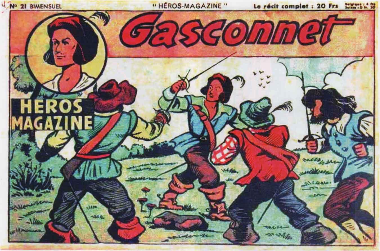 Héros magazine n° 21 (août 1950).