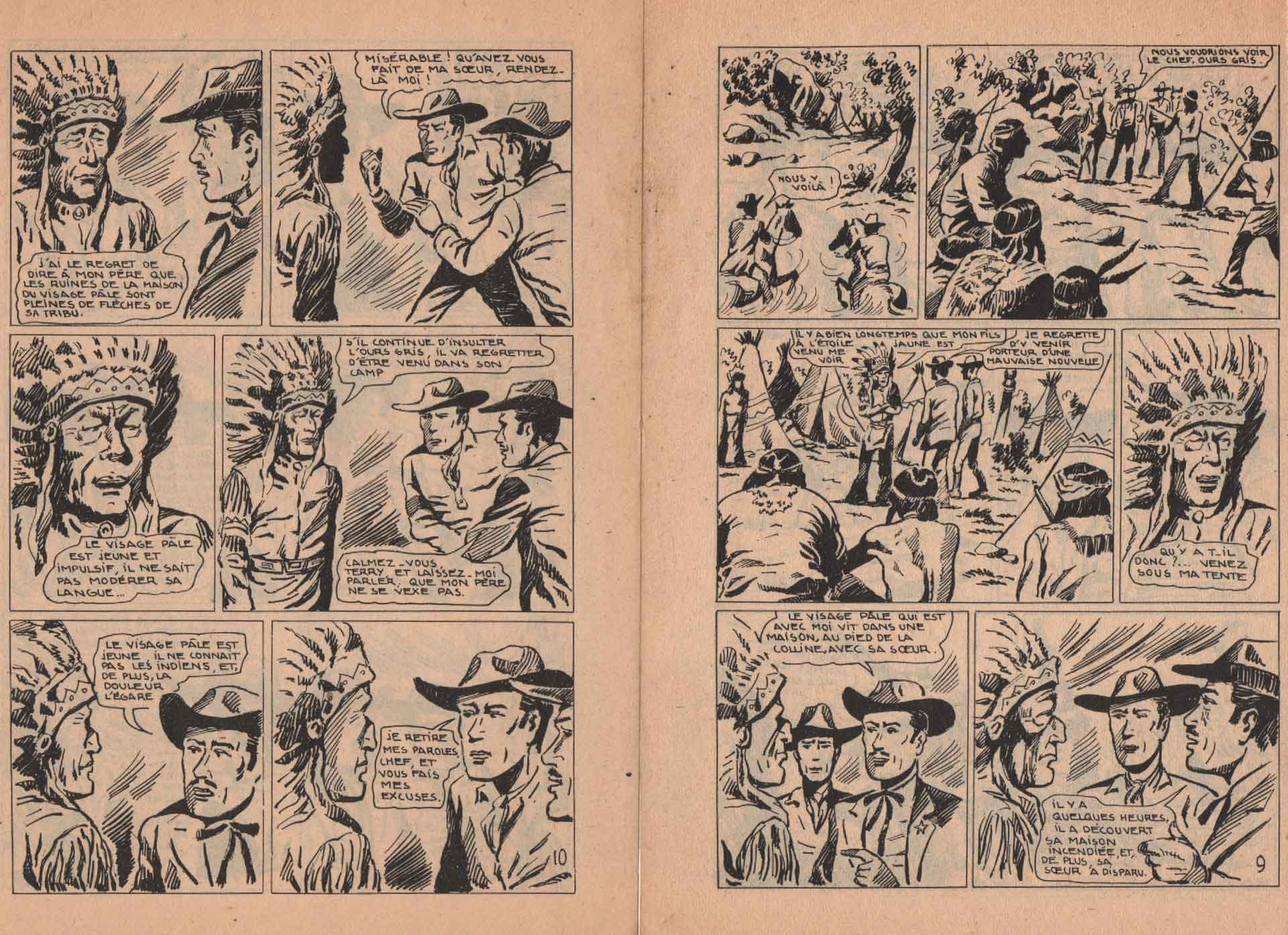 « Sam Grant » Hoppy n° 7 (juillet 1955).