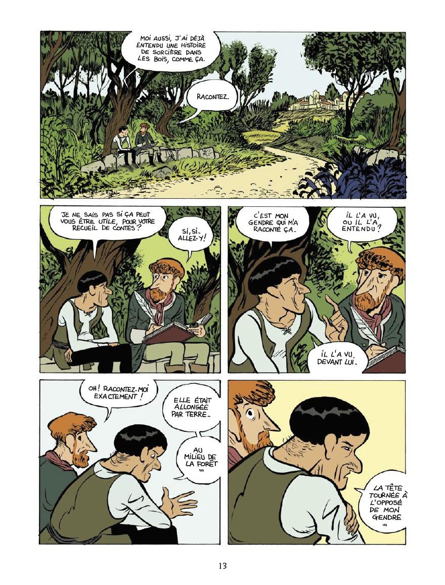 Un monde mystérieux passé à la question... (pages 9 et 10 - Delcourt 2020)